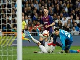 O Real voltou a perder para o Barcelona. EFE