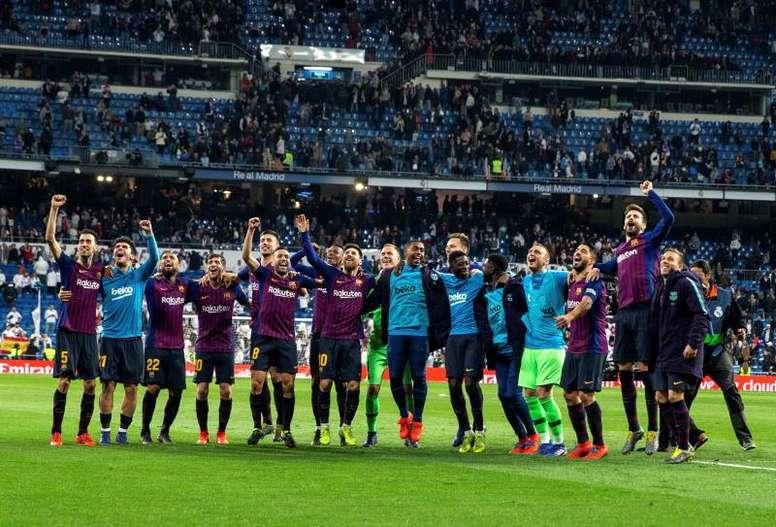 Histórico triunfo del Barcelona. EFE