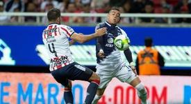 Jair Pereira quedó fuera de Chivas. EFE