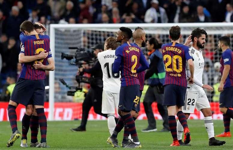 Barcelone et Madrid sont en tête. EFE