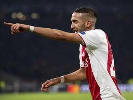 Ziyech déclare sa flamme à l'Ajax !  EFE