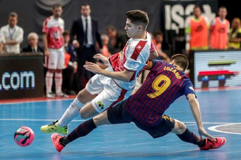 ElPozo logró empatar la final al Barça Lassa. EFE/Archivo