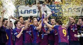 El Barça Lassa, insaciable, quiere más. EFE