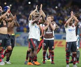 Flamengo viajó a Bolivia sin Uribe ni Rhodolfo. EFE/Archivo