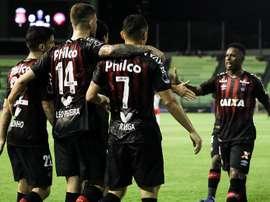 Problemas para Atlético Paranaense. EFE/Archivo