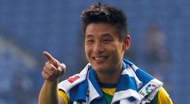 Wu Lei perdió su primer partido con el Espanyol. EFE