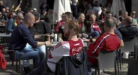 I tifosi dell'Ajax tingono Torino. Goal