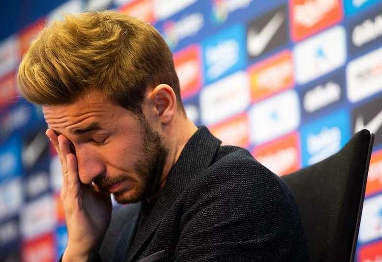 Samper anunció el martes su adiós al Barça. EFE