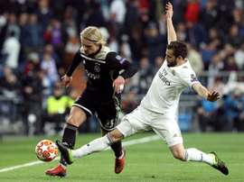 Zidane pourrait se séparer de Nacho en vue de la prochaine saison. BeSoccer/EFE