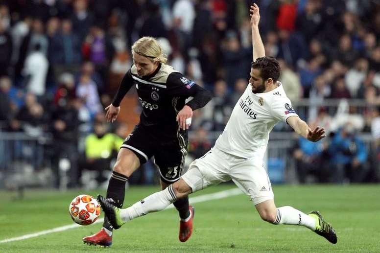 Zidane podría prescindir de Nacho de cara a la próxima temporada. BeSoccer/EFE