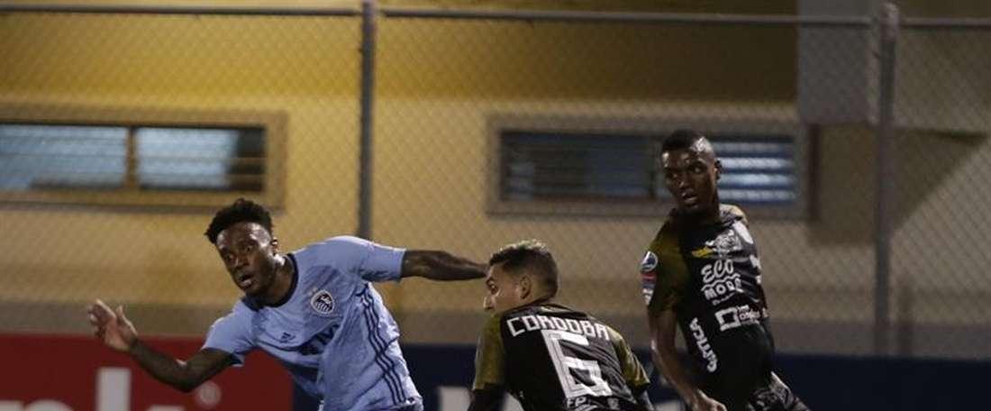 Independiente Chorrera volvió a dar la sorpresa. EFE
