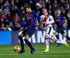 Pique claimed Barca's equaliser. EFE