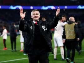 Manchester United sera de retour au Parc des Princes. AFP