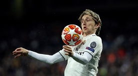 Luka Modric has not been given the usual starring role this season. EFE