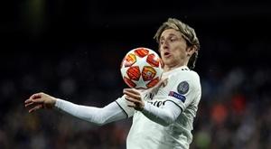 O Milan se reúne com o agente de Modric. EFE
