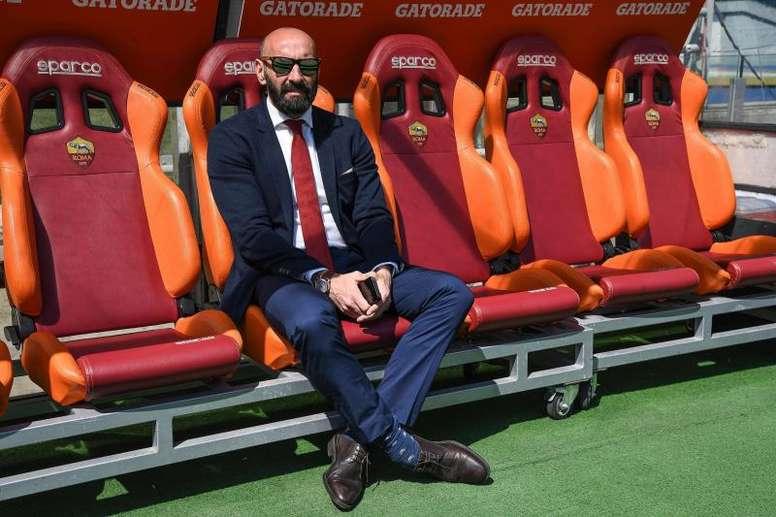 Totti defendió a Monchi. EFE
