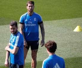 Zidane devra faire sans Ramos. EFE