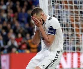 Benzema fica de fora contra o Rayo Vallecano. EFE