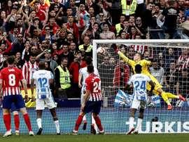 Leganés e Atlético de Madrid: onzes iniciais confirmados. EFE