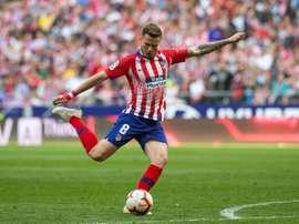 Saúl veut des nouveaux défis à l'Atlético de Madrid. EFE