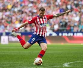 Saúl has no doubts that his future lies in Spain's capital. EFE