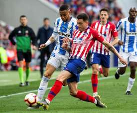 Arias occupera un poste en défense face à Valence. EFE