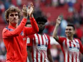 Griezmann encense l'Atlético. EFE