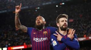 Les conditions pour qu'Arturo Vidal quitte le Barça. EFE