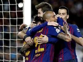 Le meilleur passeur d'Europe est Messi. EFE