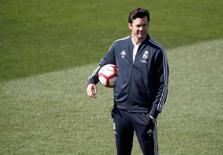 Le Real Madrid a proposé a Solari de continuer au club. EFE