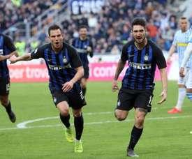 Inter Milan want to keep hold of Politano. EFE/EPA