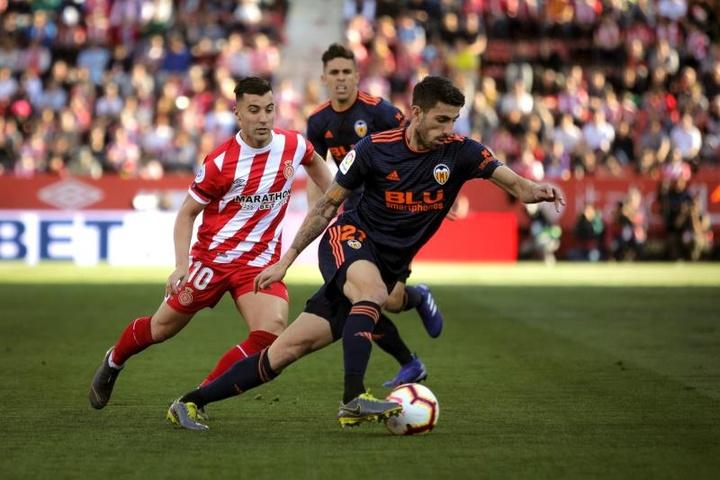 Borja García podría volver al Girona. EFE