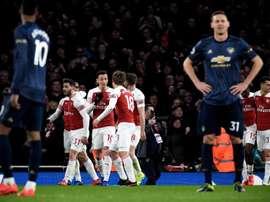 Sarr est un des joueurs qui intéresse le plus Arsenal. EFE/EPA