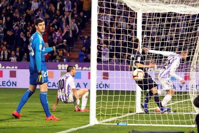 El Valladolid visita el Bernabéu. EFE