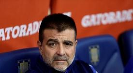 Claudio Vivas pidió respeto para el futbolista. EFE