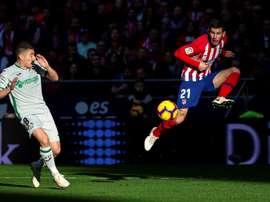 37 partidos de Segunda, 55 de Primera y 8 de Copa del Rey. EFE