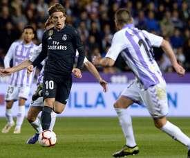 Les compos probables du match de Liga entre Valladolid et le Real Madrid. EFE