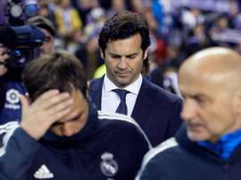 Solari de retour à Madrid. EFE