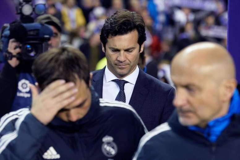 Solari fue destituido como técnico del Real Madrid. EFE