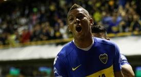 Fabra seguirá en Boca hasta 2023. EFE