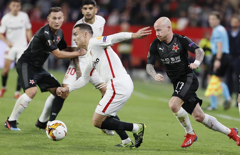 Horario, TV y formaciones — Slavia Praga-Chelsea