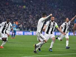 Juventus, um dos que estão na bolsa. EFE