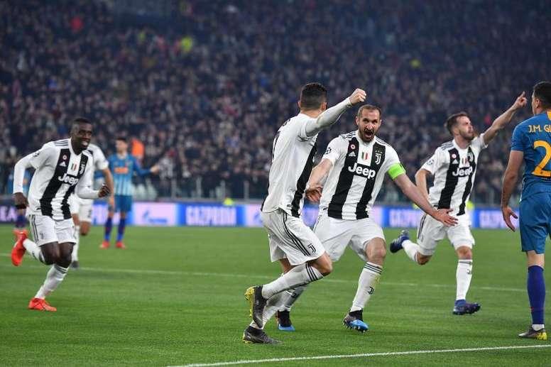 La Juventus, uno de los grandes equipos que cotizan en bolsa. EFE