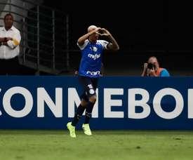 Palmeiras goléo a Melgar. EFE