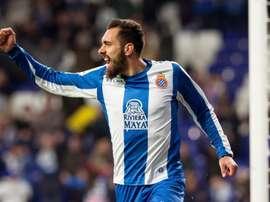 Borja Iglesias ne compte pas partir de l'Espanyol, Efe