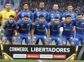 Prováveis escalações de Cruzeiro e Deportivo Lara. EFE/Archivo