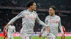 Munique e a vaga conquistadas pelo Liverpool. EFE