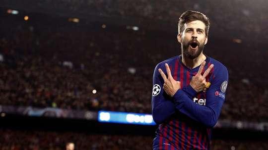 A defesa catalã pode conseguir ser a mais goleadora. EFE