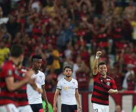 Flamengo vence a Liga de Quito y asume el liderato del Grupo D. EFE