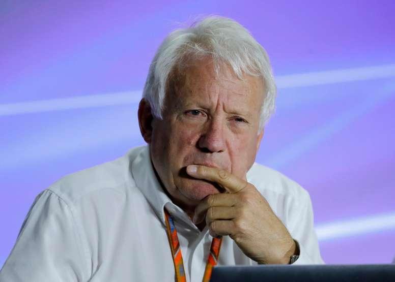 Imagen de archivo del director de carrera de la Formula 1 Charlie Whiting. EFE/Archivo